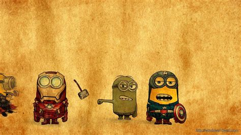 themes windows 10 minions minions avengers background wallpaper windows 10 wallpapers
