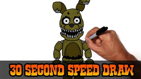 five 4 school plushtrap five nights at freddy s 4 speed draw preview