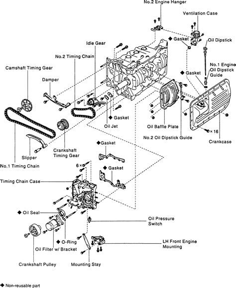 Toyota Previa Engine Diagram Repair Guides Engine Mechanical Timing Chain And