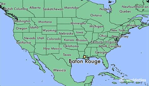 baton usa map where is baton la baton louisiana map