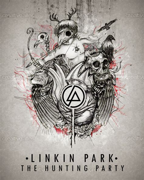 design artwork for linkin park creative allies