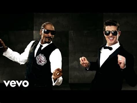 Snoop Dogg Louis Vuitton Was The That They Gave Me by Robin Thicke In Tom Ford Snoop Dogg In Louis Vuitton