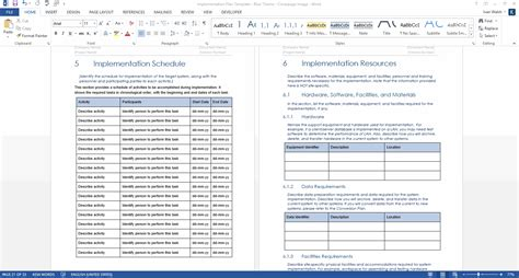 implementation approach template implementation approach template gallery free templates