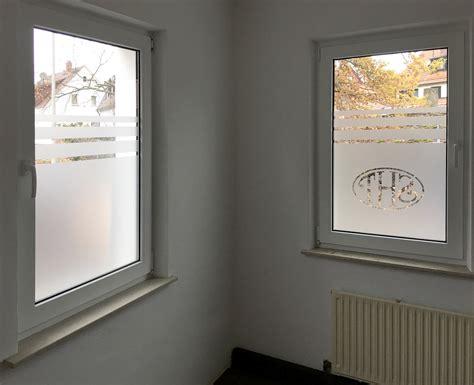 Fenster Sichtschutz Mit Logo by Sichtschutz Mit Logo Sht Focus Folienbeschriftung In
