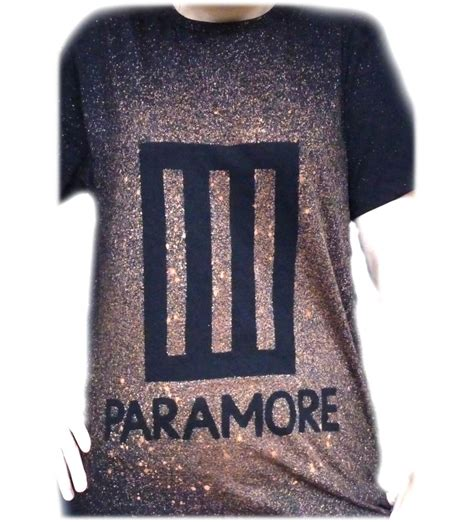 Tshirt Paramour in stock now paramore t shirt designed unisex