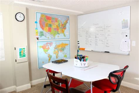 A Tour Of Our Homeschool Classroom Whiteboard For Room