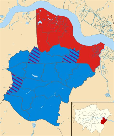 louisiana election map 2014 file bexley uk local election 2014 map svg