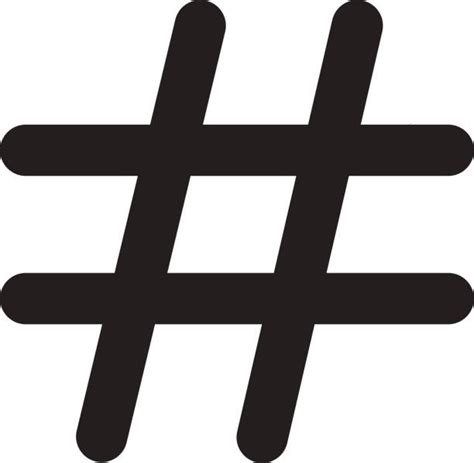 art design hashtags royalty free hashtag icon clip art vector images
