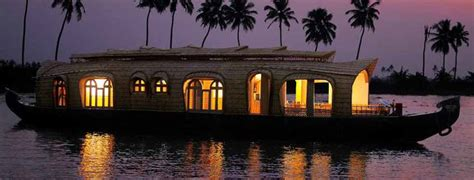 alleppy house boats book luxury kerala tour package with best services and star category hotels