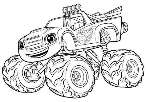 blaze monster truck coloring page amazing monster truck coloring sheets contemporary