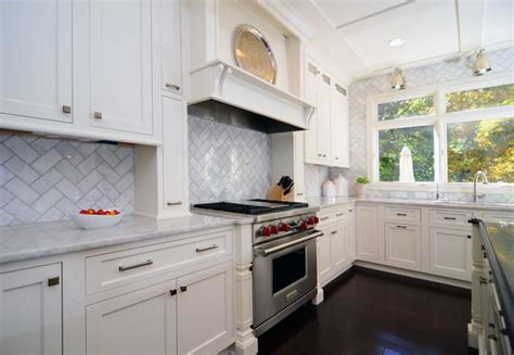 open plan soft white cabinets contrasting floors