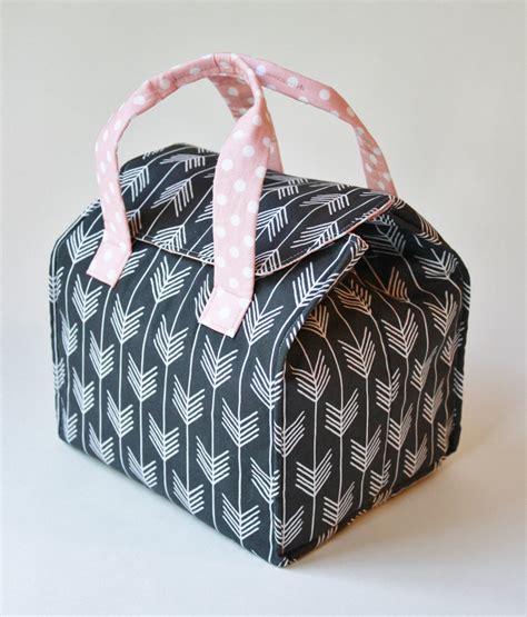 pattern for fabric lunch bag custom insulated bento box carrier binski s studio
