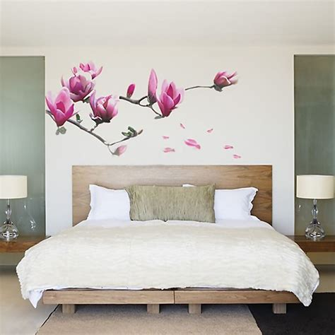 living room decals elegant wall decor wall decal sticker magnolia flower