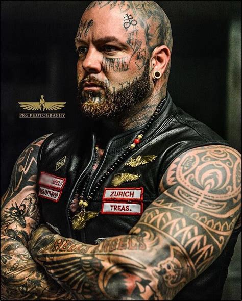 hells angels tattoos the owner of hells shop storytattoo themes