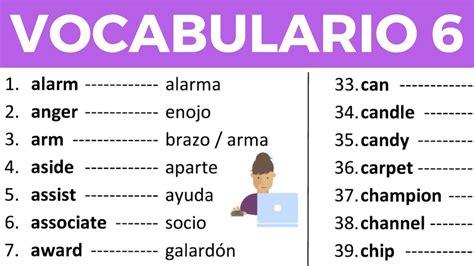 preguntas a familiares en ingles vocabulario en ingl 233 s con pronunciaci 243 n lecci 243 n 6 de 8