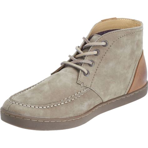 new mens sebago taupe nubuck leather ryde