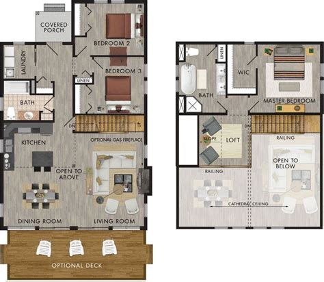 best 25 cabin plans with loft ideas on small