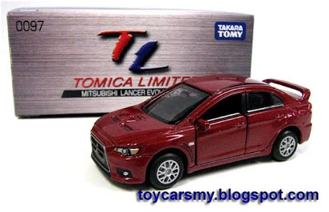 Tomica Mitsubishi Lancer East Cloud featured car tomica limited mitsubishi lancer evolution x cars collector malaysia junior
