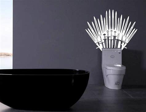 game of thrones iron throne toilet bogazici77 introducing the game of thrones iron throne toilet wall decal