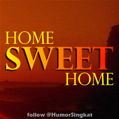 4 pilihan animasi home sweet home status dp bb