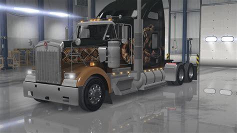 kenworth truck interior kenworth w900 interior exterior rework v1 ats mods