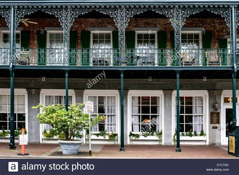 southern architects southern architecture in downtown savannah georgia stock
