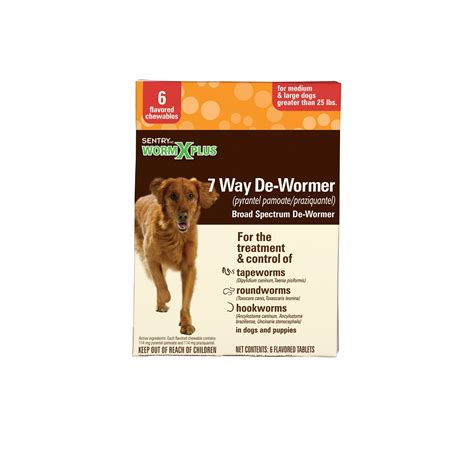 puppy dewormer petco sentry hc wormx plus de wormer chewables flavored for dogs petco