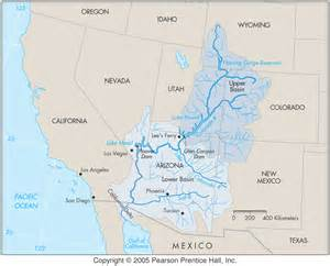 colorado river map colorado river basin map