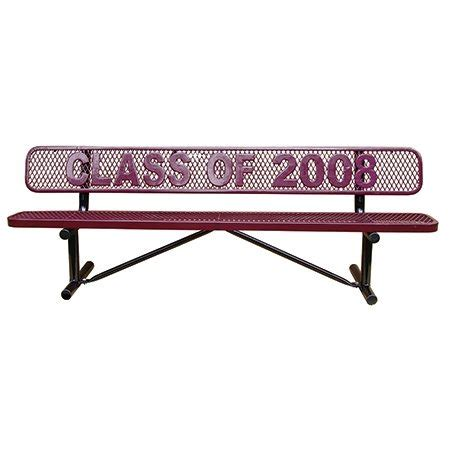 personalized bench get personalized benches online for your school cafe garden
