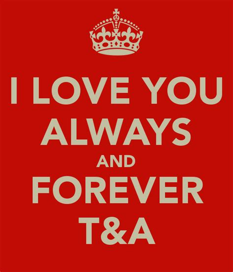 images of i love you forever i love you always and forever t a poster topan keep