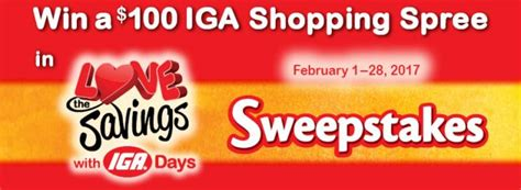 Iga Sweepstakes - sweepstakeslovers daily healthy essentials sweepstakes star fine foods sweepstakes