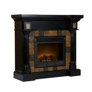 Black Electric Fireplace Corner Or Flat Slate Black Electric Fireplace Fa8752e
