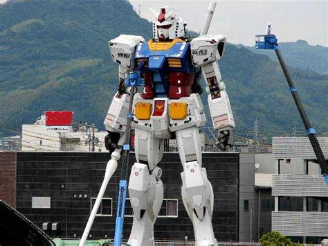 film robot voltus 1 1 rg gundam rx 78 2 statue in shizuoka completed part 11
