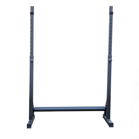 bench equipment adjustable squat rack stand barball free press bench