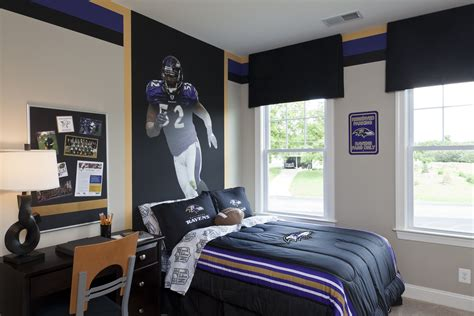 ravens secondary bedroom interiors