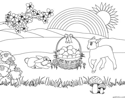 Coloring Page Nature by Coloring Pictures Of Nature Coloring Home