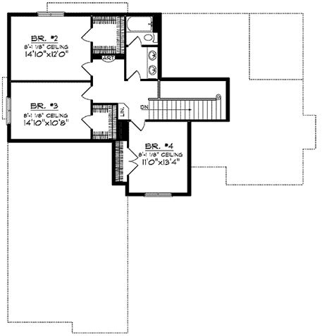 floor plans for sloped lots sloping lot ranch 89045ah 1st floor master suite cad