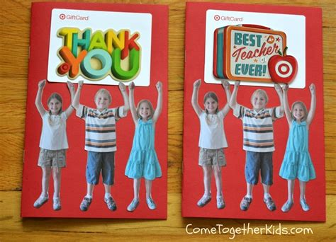 Gift Card Holder Ideas For Teachers - 7 diy teacher gift ideas to make gift cards more personal