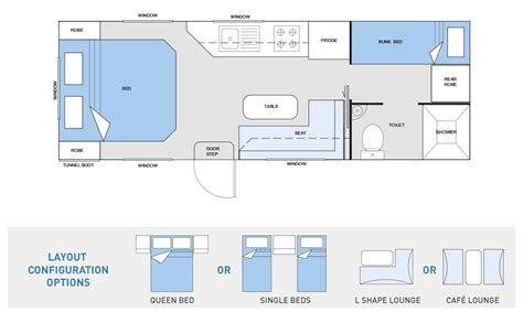 cervan floor plans caravan floor plans caravans silver 2 bedroom caravans