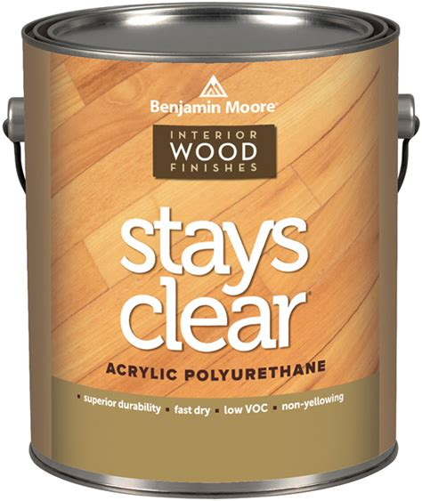 Benjamin Moore Stays Clear   Paintshop