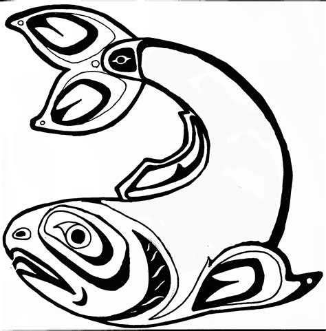 totem pole salmon www pixshark com images galleries