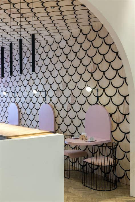 duju patisserie features  shaped design elements
