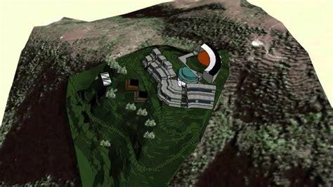 hill design concept resort design concept youtube