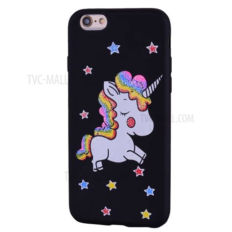 Casing Iphone 6 6s Unicorn 1 unicorn pattern tpu mobile phone casing for