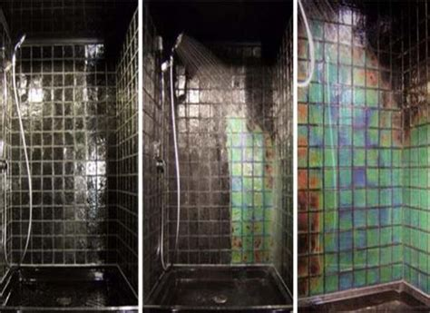 warm bathroom tiles 5 colourful shower enclosure ideas
