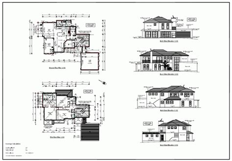 bungalow floor plan with elevation house with roof deck design two storey philippines