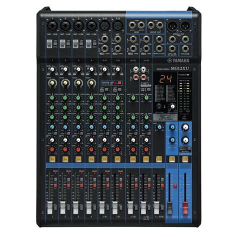 Mixer Yamaha Mg yamaha mg 12xu 171 mixer