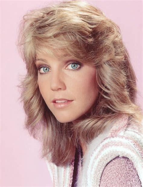 1980 shag hairstyles feathered hair heather locklear i love the 80 s