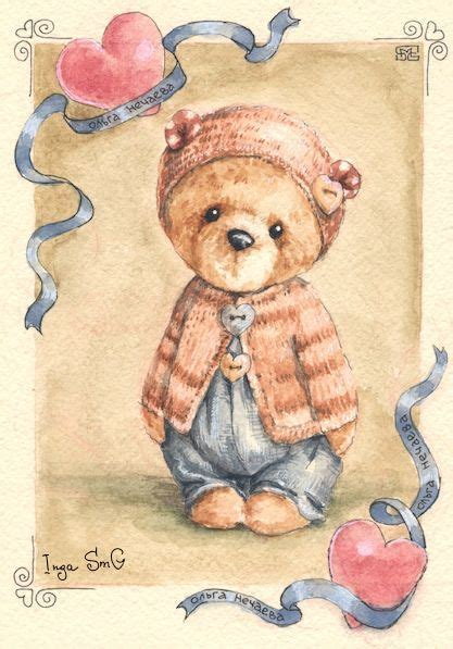 teddy bear christmas cookie besides tattoo drawing designs as well 2170 best decorative tole painting images on pinterest