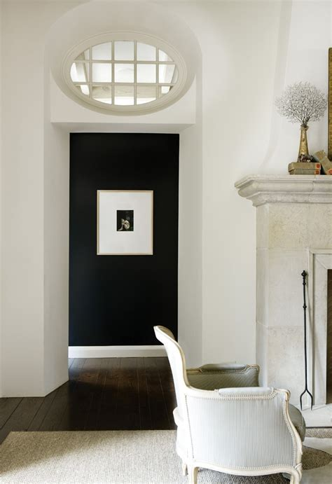 black accent wall bold black